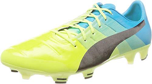 Puma Evopower 1.3 FG, Zapatillas de fútbol para Hombre, 7724801_44, Amarillo, 44 EU