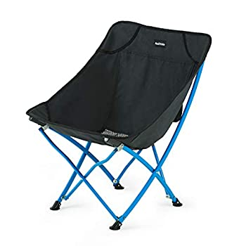 Naturehike Ultralight Folding Camping Chair Portable Compact for Outdoor Camp Travel Beach Picnic Festival Hiking Lightweight Backpacking