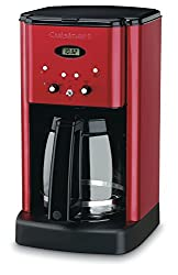 colorful coffee makers - retro red