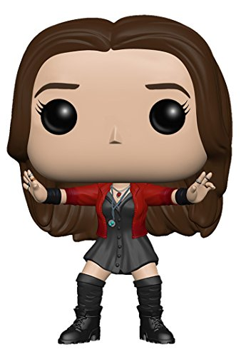Funko - Figurine Marvel Avengers Age of Ultron - Scarlet Witch Pop 10cm - 0849803047795