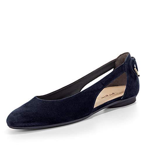 Paul Green Damen Ballerinas 3553-012 blau 423686