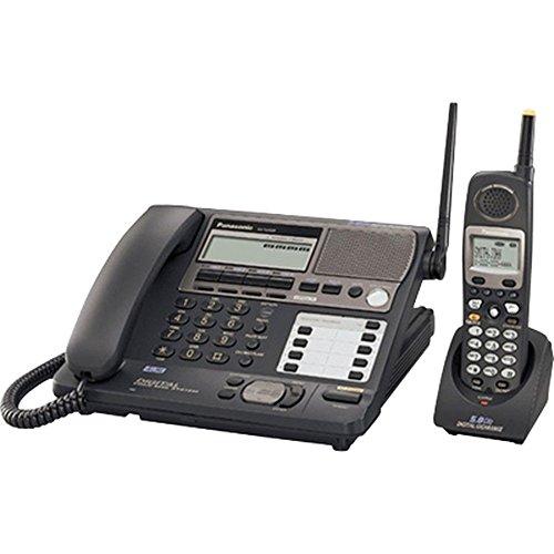 Panasonic KX-TG4500 4 Line Cord / Cordless Phone Base With 5 Handsets Bundle
