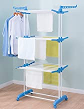 PAffy 2 Poll 3 Layer Cloth Drying Stand – Prince Jumbo (Multi-Color)