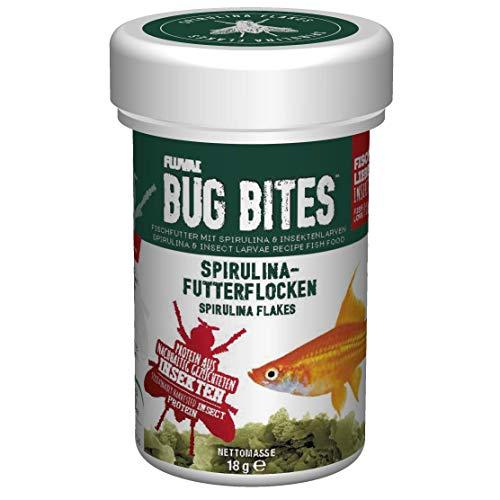 Fluval Bug Bites Spirulina-Futterflocken, 1er Pack