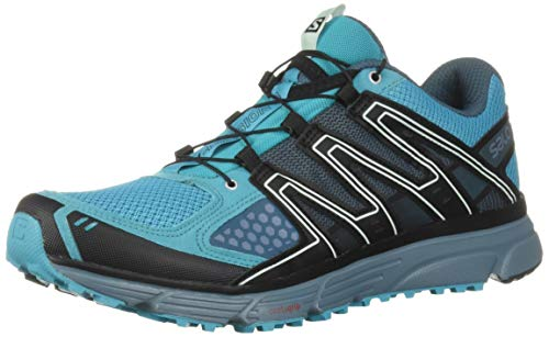 Salomon X-Mission 3 W, Zapatillas de Trail Running Mujer, Azul (Bluebird/Bluestone/Black), 38 EU