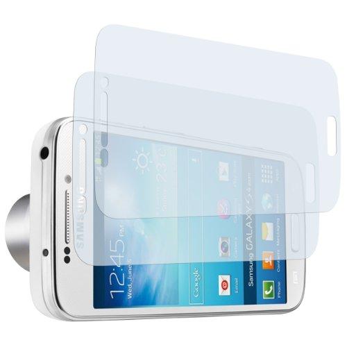 mumbi Schutzfolie kompatibel mit Samsung Galaxy S4 Zoom Folie klar, Bildschirmschutzfolie (2X)