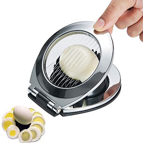 Eierschneider, Eierschneider 2 In 1 Scheiben & Keile Früchte Schneiden Küchenwerkzeug Ei Wedger Eischneidewerkzeug für Gekochten Eiern, Erdbeeren, Pilzen, Salaten
