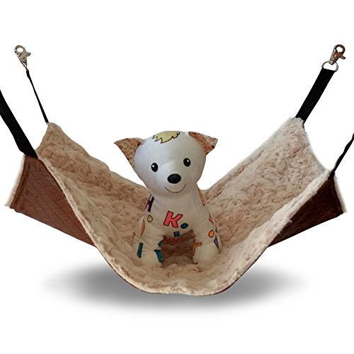 JOYELF Cat Hammock Bed Pet Cage Hammock, Hanging Soft Pet Bed for Kitten Ferret Puppy or Small Pet