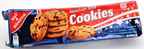 Gut & Günstig Cookies American Style, 24er Pack ( 24 x 225 g )