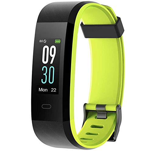 Willful Fitness Tracker with Heart Rate Monitor IP68 Waterproof, Activity Tracker (14 Modes) Pedometer with Step Counter Sleep Monitor,Color Screen ,Fitness Watch for Women Men (Pink) (Green)
