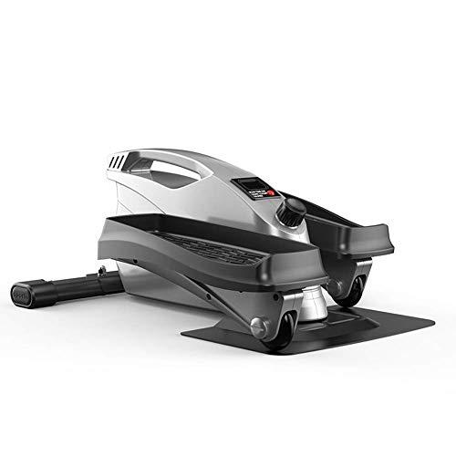 DDL Ellipsentrainer Mini Pedal Exerciser 2019 Elektronische Crosstrainer Machines Elliptical Trainer Stride Compact for die Gesundheit Fitness im Alltag zu Hause Bewegung und Büro