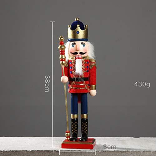 Notenkraker Hout Soldaten beeldje poppen Creative Cartoon kinderspeelgoed Geschenken Thuis Desktop Decoratie nieuw, A