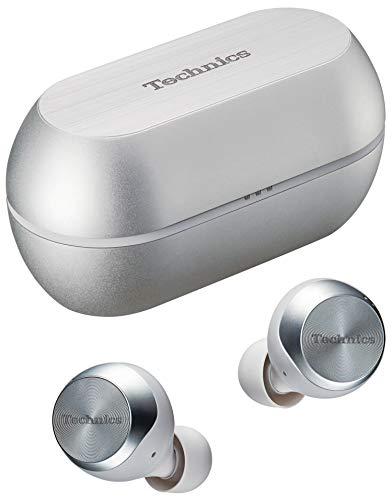 パナソニック テクニクス カナル型 ノイズキャンセリング 完全ワイヤレスイヤホン Bluetooth対応 防滴 シルバー EAH-AZ70W-S