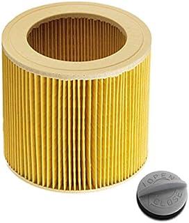 Patronfilter för Kärcher Karcher Kaercher WD2.200 WD3.500 P WD 3.200, WD 3.300 M, WD 3.500 P som 6.414-552.0