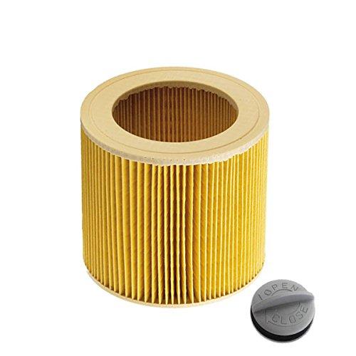Patronenfilter Patronen für Nass-/ Trockensauger Nasssauger/Mehrzwecksauger/Waschsauger Kärcher A 2204 2254 2101 2201 WD2 WD3 MV2 MV3 WD2.200 WD3.500 P WD 3.200, wie 6.414-552.0 - Nachbauten -