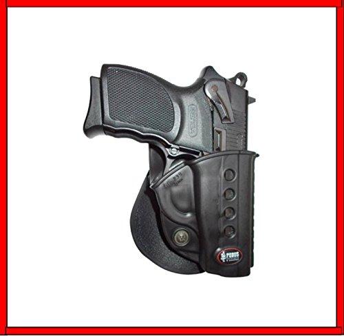 FOBUS Guertelholster für Rechtshänder RH in schwarz, GL2ND-BH FOBUS Holster für Glock 17 19 22 23 31 32 34 35 / WALTHER PK-380 GL2ND-BH GL2E2 Gürtel FOBUS+ Best Security Gear Magnet