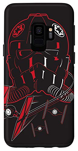 Galaxy S9 Star Wars Imperial TIE Fighter Pilot Black Case