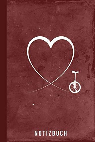 Notizbuch: Einrad fahren Fahrrad Geschenk Radsportler (Radsport Zubehör, Band 1)