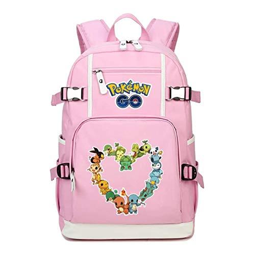 Tutui lovely double shoulder backpack Pokemon Backpack Pokémon Pikachu Anime Peripheral School Bag Cute Backpack Female Pokemon