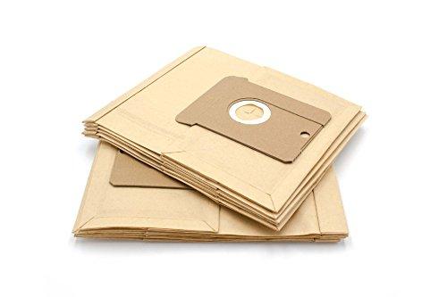 vhbw 10x Staubsaugerbeutel Filtertüten aus Papier Gr. 22/23/24 für Staubsauger AEG Electrolux Vampyr 60ABE03, 6100, 6109, 6150, 6159, 6200, 6209, 6210