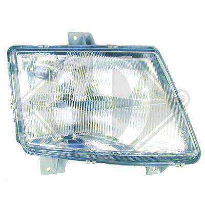 1665981; koplamp links (bestuurderszijde) voor M. Vito van 1995 tot 2003 originele look