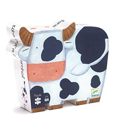 Djeco - DJ07205 - Puzzle - Vacas Constitución - Puzzle Silu