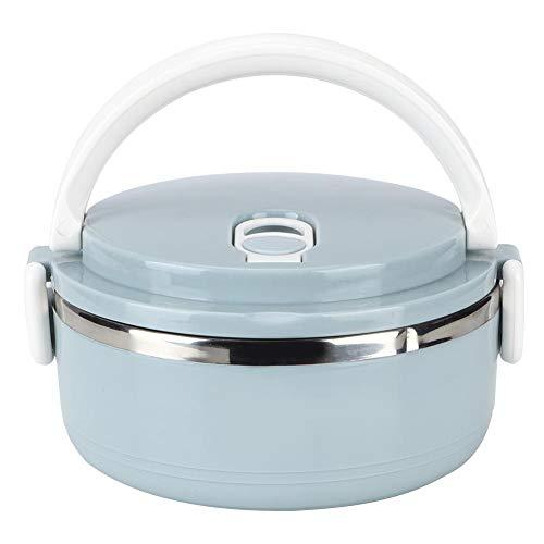 Ichiias Lunch Box Contenitore per alimenti Bento Box per alimenti in acciaio inossidabile con isolamento termico blu blu(1 strato)