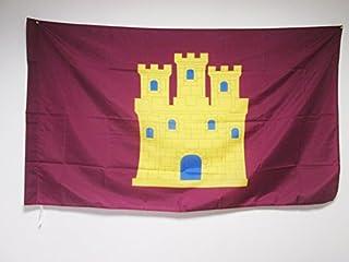AZ FLAG Bandera de Castilla INDEPENDENTISTA 150x90cm para Palo - Bandera CASTELLANA NACIONALISTA 90 x 150 cm