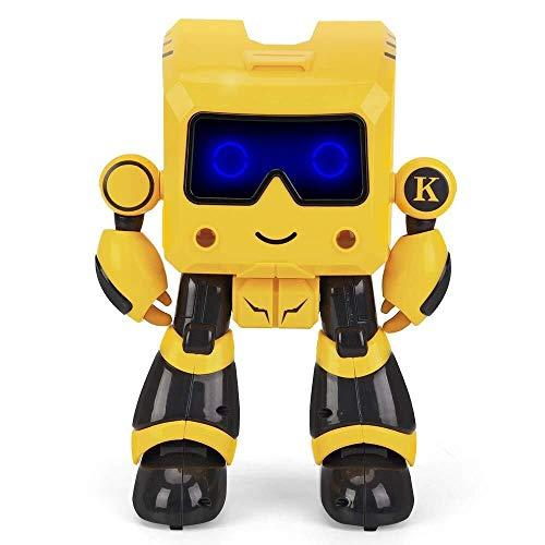 ADLIN Al aire libre Juguetes educativos, a distancia del robot de control remoto del robot Rc Control del robot inteligente Intelligent Sensing Programación Gesto Robot Baile del canto Caminar juguete