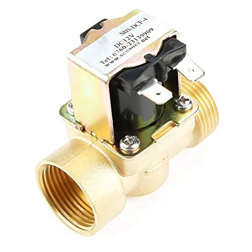 GUOCAO DN20 G3/4 Válvula solenoide eléctrica de entrada de agua cerrada normal operada por piloto