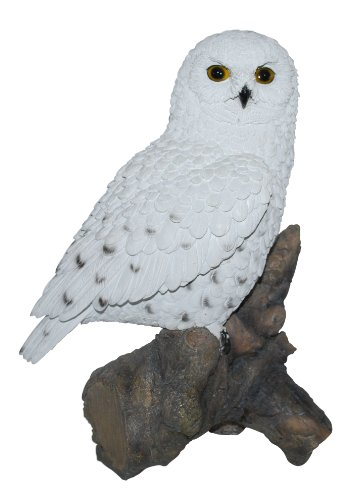 Real Life Large Snowy Owl Garden Ornament (SizeB)