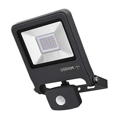 Osram LED Endura Flood Sensor Fluter, für Außenanwendungen, Kaltweiß, integrierter Tageslicht- und Bewegungssensor