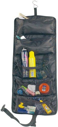 Xcase - Beauty case: Beauty case da viaggio, avvolgibile, molto spazioso (borsa da toeletta avvolgibile).