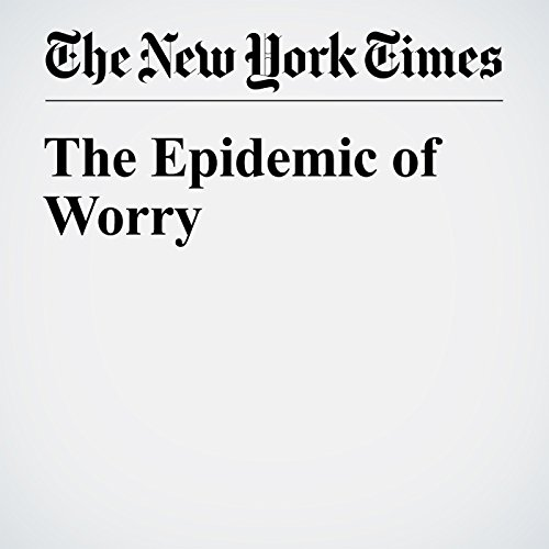 The Epidemic of Worry cover art