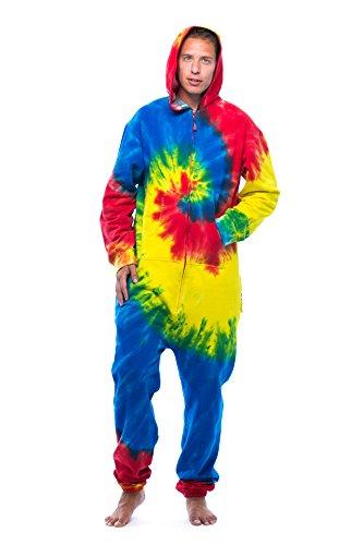 #followme 6436-MULTI-XXL Jumpsuit/Adult Onesie/Pajamas