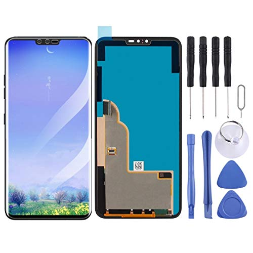 Zhouzl Repuestos LG Schermo LCD e Digitizer Assemblea Completa for LG V40 THINQ Repuestos LG (Colore : Black)