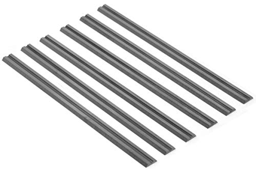 WEN 6530B-TCT 3-1/4-Inch Tungsten Carbide-Tipped Replacement Planer Blades, 6 Pack