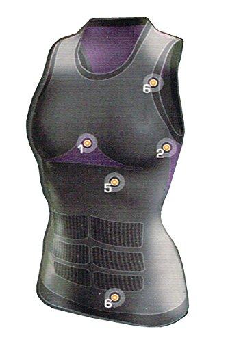Crivit Sports Damen Biking Funktionsshirt Fahrradshirt H2Port Natural Evolution (S (36/38))