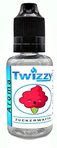 30ml Twizzy® XL Zuckerwatte Aroma   Aroma für Shakes, Backen, Cocktails, Eis   Aroma für Dampf Liquid und E-Shishas   Flav Drops   Ohne Nikotin 0,0mg