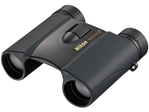 Nikon Aculon Sportstar EX 8X25 DCF WP - Binoculares (ampliación 8X, Objetivo 25 mm, pupila Salida 3,1 mm), Color Gris Oscuro
