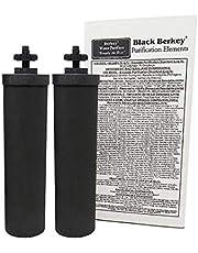 Berkey BB9-2 vervangende reinigingselementen, zwart, 2 stuks