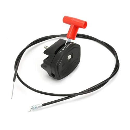 LiMePng Mit Kabelzubehör Griff Portable Ersatzwerkzeughebelsteuerung Universalteile Rasenmähergasschalter Fit für MAYITR LiMePng