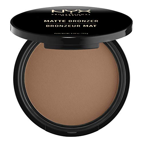 NYX Professional Makeup Matte Body Bronzer, Gepresstes Puder, Ohne Schimmer-Effekt, Vegane Formel, Deep