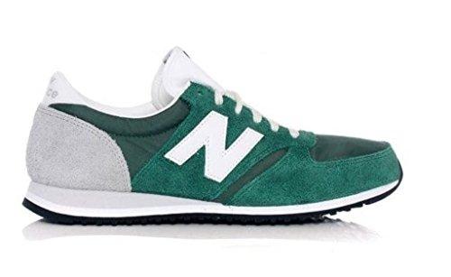 New Balance U420, Zapatillas de Estar por casa Unisex Adulto, Hunter Green/Grey, 41.5 EU