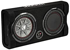 "ONE 10"" thin-mount CompRT subwoofer and a high-output reFLEX passive radiator which intensifies bass output Easily mounts in cargo area with no space issues, and resists stacking weight Minimal mounting depth without sacrificing musical punch Active,..."