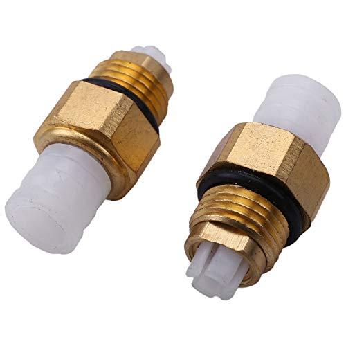 Kamenda 10Pcs Kit de reparación de suspensión neumática Válvula de Aire M8x1 para W251 W164 W212 W211 W220 W221 Nuevo Tubo de Conector de Aire Accesorios de latón