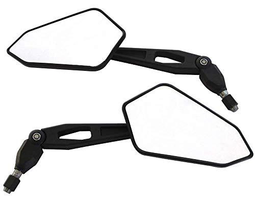 Motorrad Seitenspiegel - Hervorragende Qualität E-Geprüft Ideal Für Naked & Supermoto