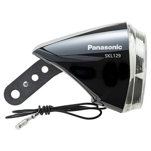 パナソニック(Panasonic) LEDハブダイナモ専用ライト SKL129 ブラック自転車