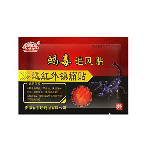 MQ 16Schmerzpflaster, zur Verwendung bei Rheuma Arthritis Knieschmerzen Gelenkschmerzen Rückenschmerzen