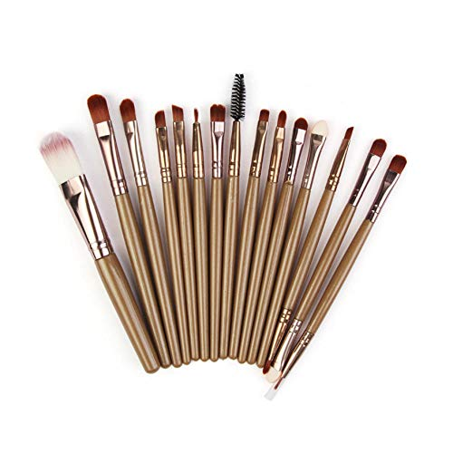 Lot de 15 pinceaux de maquillage